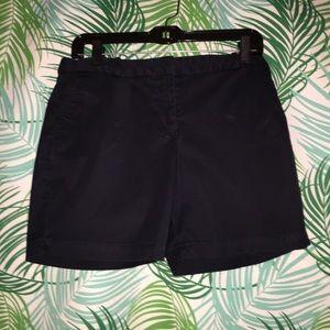 Talbots Navy blue 8 Petite shorts